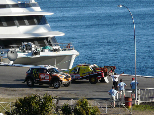 Se largo el Dakar 2012 fotos propias