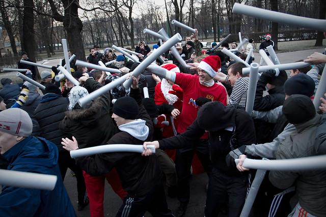 Новогодняя Русская пробежка