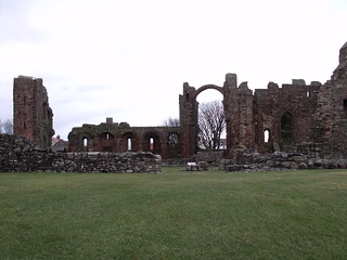 Lindisfarne Priory, 31st December, 2011