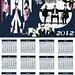 2012 Mars Calendar by EchelonVzla
