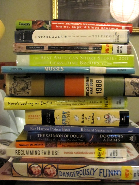 The To Read pile - 1/1/12
