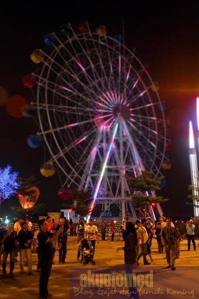 Wheel of Ferris tarikan terbaru i-city