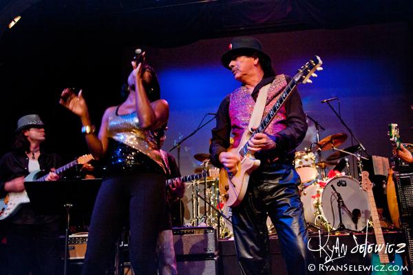 Carlos Santana Wide