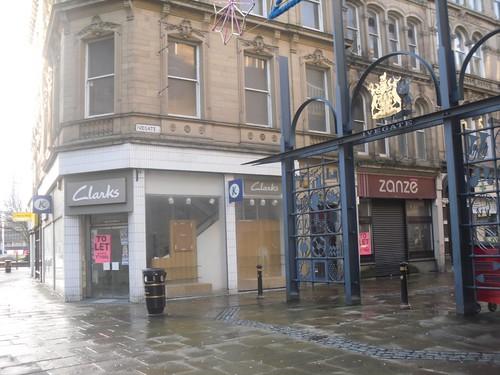 Vacant Shops, Ivegate, Bradford