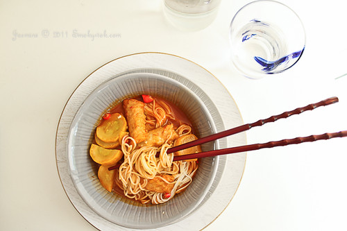 Korean Spicy Somen Noodles