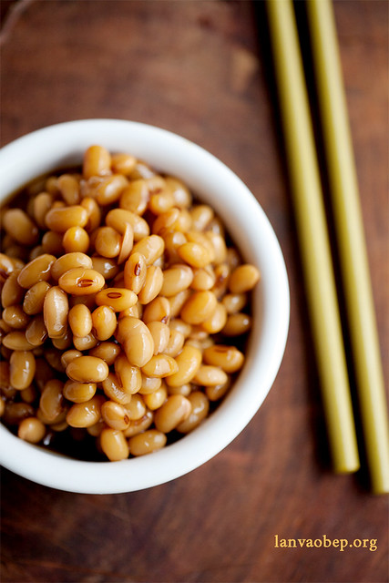 Soy beans, simmered in ginger and sweet soy sauce