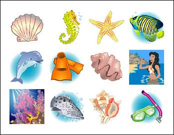 free Coral Cash Slots slot game symbols