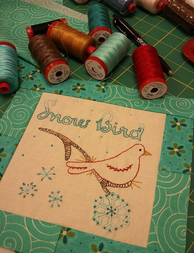 Aurifil January Designer of the Month Roseann Kermes