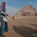 Guide Explains Saqqara Pyramid - Egypt