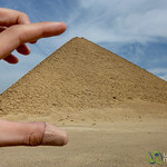 Squish the Red Pyramid - Dahshur, Egypt
