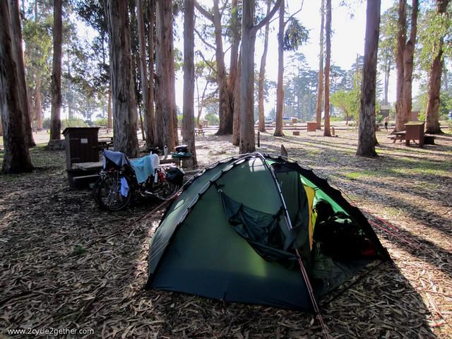 Morro Bay State Park campsite