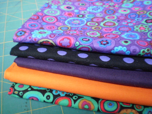 A few fat quarters
