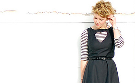 DIY Heart Cutout Dress