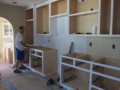 Josh installing