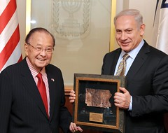 PM Netanyahu Meets with Senator Daniel Inouye