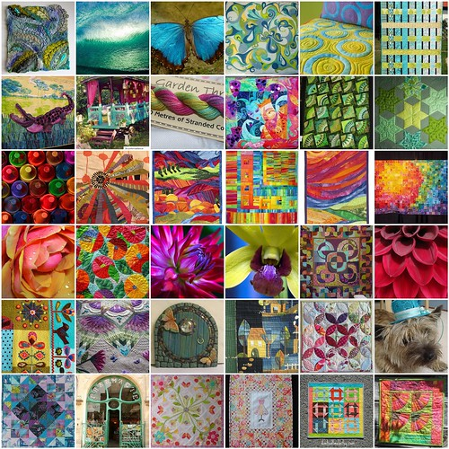 Inspiration for Fab Little Quilt Swap