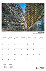 ADIDAP Calendar 2012 US July