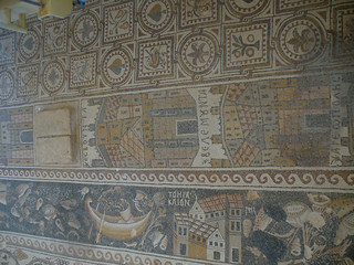 Nautical Mosaic Floor at Church of St. Stephen at Umm ar-Rasas
