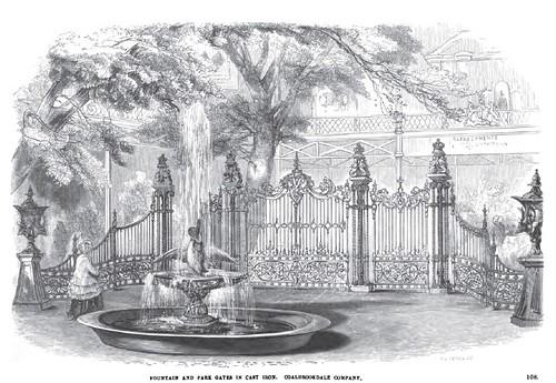 Gran Exhibicion 1851-Catalogo-Fuente de Cupido y el Cisne por John Bell-Coalbrookdale Company by Reyleomessi