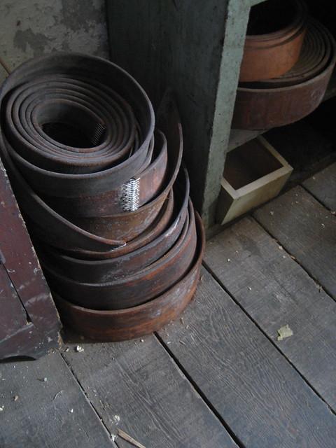 leather drive belts wilkinson mill machine shop flickr