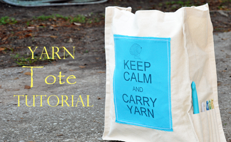 Yarn Tote Tutorial