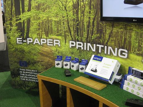 E Paper Printing