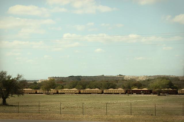train / bluff