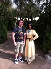John and Pocahontas