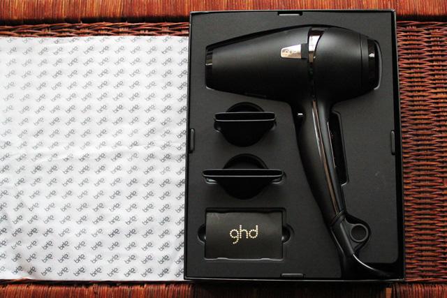 ghd hairdryer in box