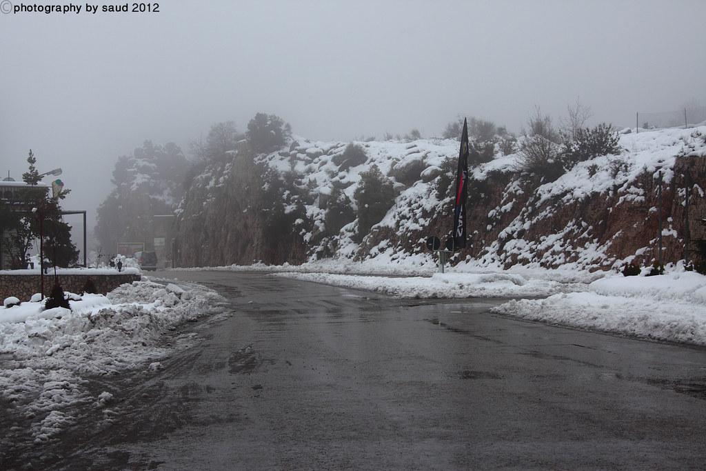 بيروت الشتاء مايحمله وثلوج وأمطار وضباب 6697194743_d37c2ea96