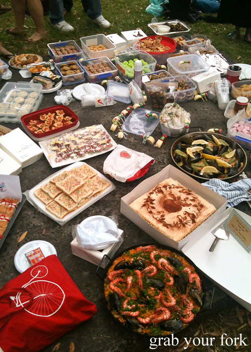 sydney food bloggers picnic