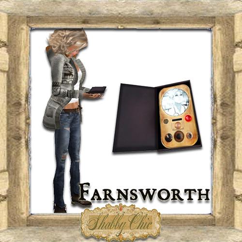Shabby Chic Jordanna's Farnsworth Communicator by Shabby Chics