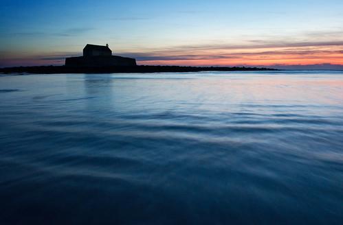 sunset seascape church island anglesey 10mm aberffraw stcwyfans porthcwyfan churchontheisland