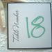 Tiffanys at the Beach Table Number