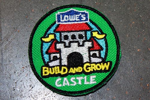 Castle-badge