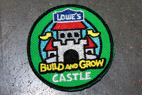Castle-badge