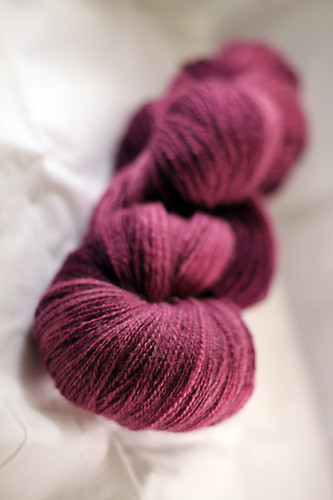 Cupcake Fibers Mixed BFL/Silk