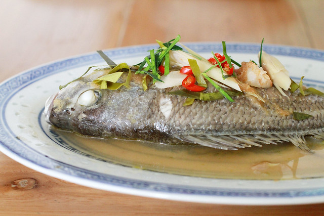 Tom Kha Steamed Fish
