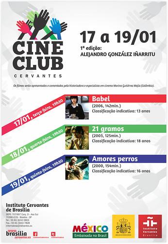Embamex Brasil presenta la trilogía cinematográfica del director González Iñárritu