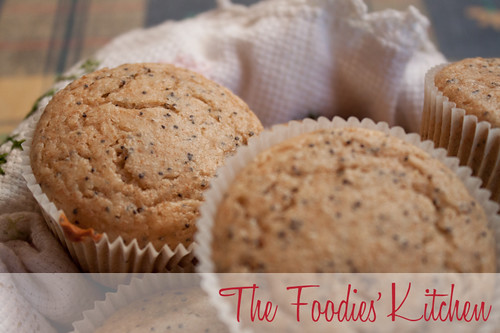 Whole Wheat Poppy Seed Muffins