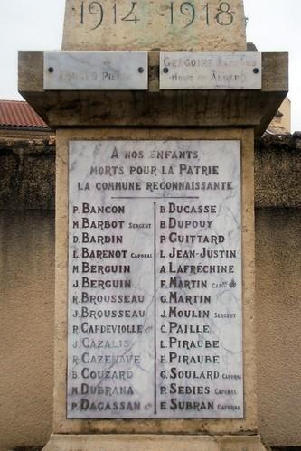 Sénestis - War Memorial 02