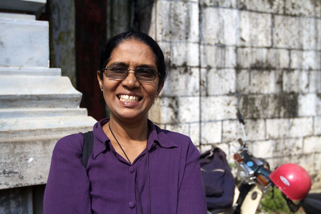 My wonderful Jaffna Tour Guide, thanks Shams!