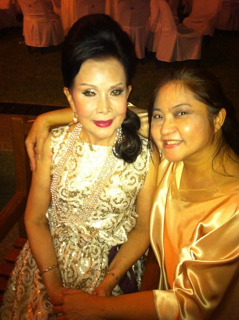 Nong with Step Mother, Legendary Actress Khun Petchara