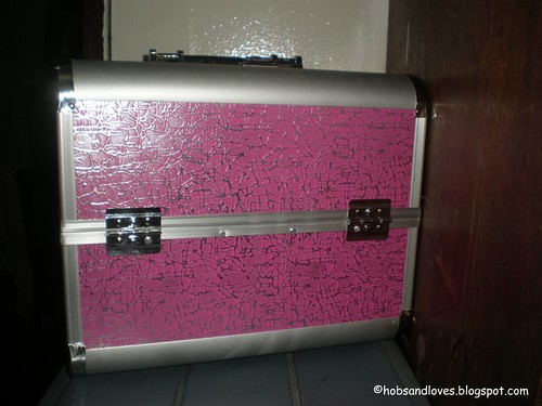 my first humble Makeup train case. Bought in Divisoria last December @1500