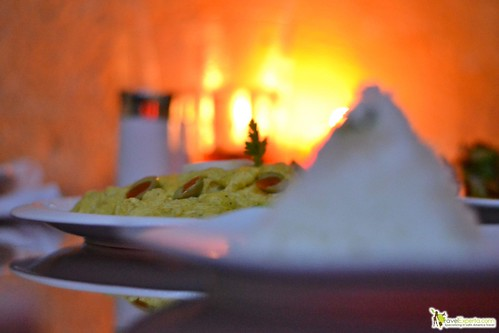 peruvian restaurant antigua guatemala - chicken inca style