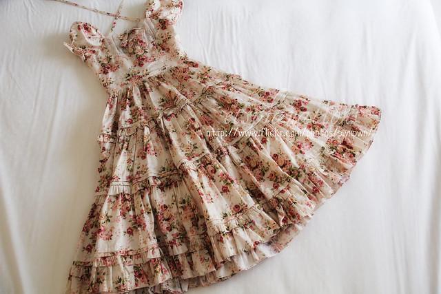 VM Classical Bouquet Long Dress