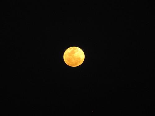 La luna en su máxima aproximación a la tierra en el 2011