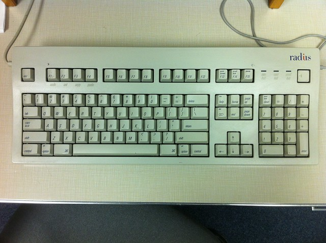 Radius keyboard
