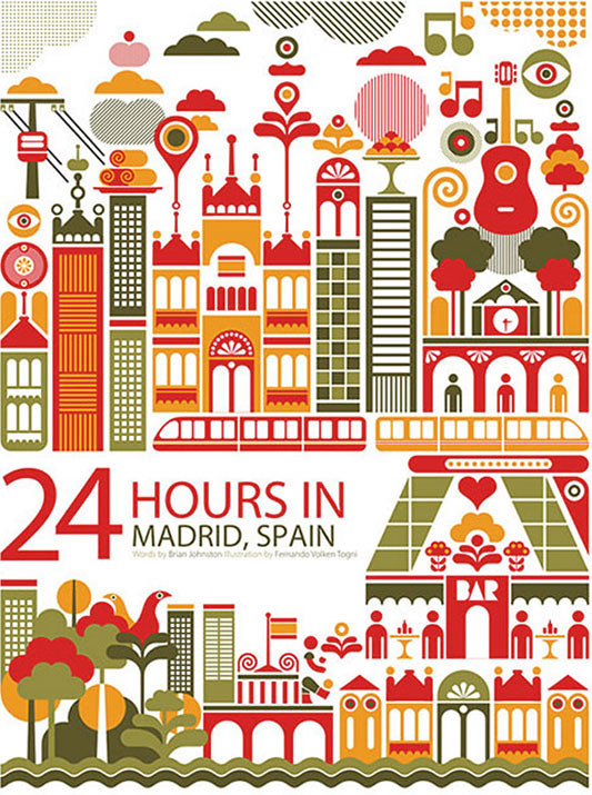 24 horas en Madrid