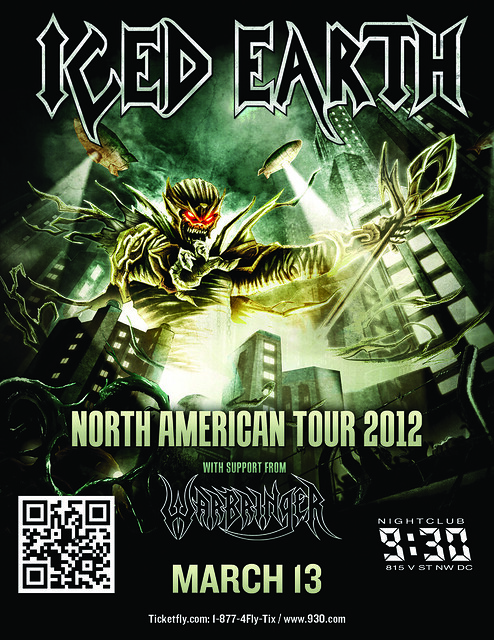 Iced Earth at the 9:30 Club
